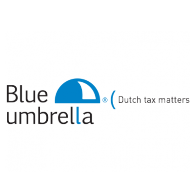Petra de Rijk - Blue Umbrella